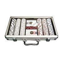 Cheap Tool Case poker chips case with clear top It holds 300pcs poker chips, 2 decks of playing cards and 5 dices. wholesale