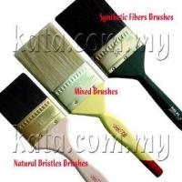 oil painting how to clean bristle brush