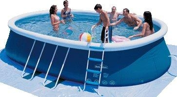 oval quick up pool of ecenjoywater. Black Bedroom Furniture Sets. Home Design Ideas