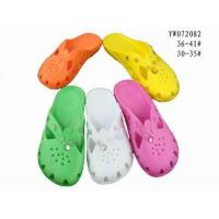 China EVA Clogs Garden Shoes Stock YW072082 on sale