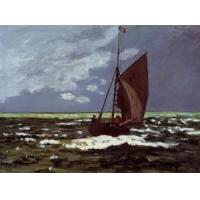 Cheap Impressionist(3830) Stormy_Seascape for sale