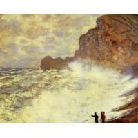 Cheap Impressionist(3830) Stormy_Weather_at_Etretat for sale
