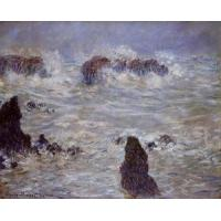 Cheap Impressionist(3830) Storm_off_the_Belle-Ile_Coast for sale