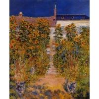 Cheap Impressionist(3830) The_Artist-s_Garden_at_Vetheuil for sale