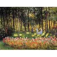 Cheap Impressionist(3830) The_Artist-s_Family_in_the_Garden for sale