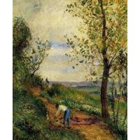 Cheap Impressionist(3830) Landscape_with_a_Man_Digging for sale