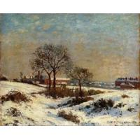 Cheap Impressionist(3830) Landscape_under_Snow,_Upper_Norwood for sale
