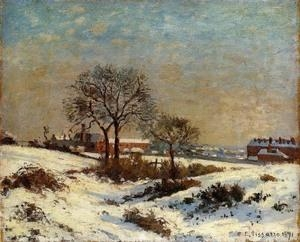 Quality Impressionist(3830) Landscape_under_Snow,_Upper_Norwood wholesale