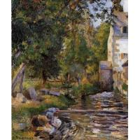 Impressionist(3830) Laundry_and_Mill_at_Osny