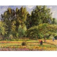 Cheap Impressionist(3830) Poplars,_Afternoon_in_Eragny for sale