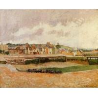Cheap Impressionist(3830) Afternoon,_the_Dunquesne_Basin,_Dieppe,_Low_Tide for sale