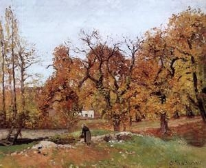 Quality Impressionist(3830) Autumn_Landscape,_near_Pontoise wholesale