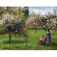 Cheap Impressionist(3830) Apple_Blossoms,_Eragny for sale