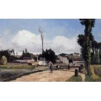 Cheap Impressionist(3830) By_the_Oise_at_Pontoise for sale