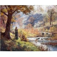 Impressionist(3830) Morning_by_the_Stream