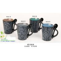 Cheap Coffee mug with Spoon (SPCF030) for sale