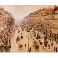 Cheap Streets(103) Boulevard_Montmartre_-_Morning,_Grey_Weather for sale