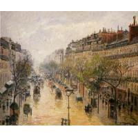 Cheap Streets(103) Boulevard_Montmartre_-_Spring_Rain for sale