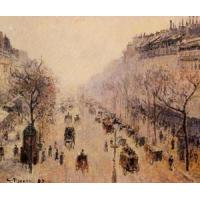 Cheap Streets(103) Boulevard_Montmartre_-_Morning,_Sunlight_and_Mist for sale