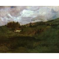China Impressionist(3830) Tuscan_Landscape for sale