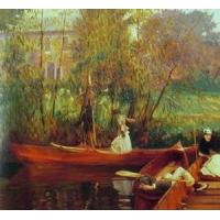 Cheap Impressionist(3830) A_Boating_Party for sale