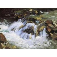 Cheap Impressionist(3830) A_Mountain_Stream_Tyrol for sale