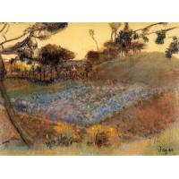 Cheap Impressionist(3830) Field_of_Flax for sale