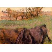 Cheap Impressionist(3830) Landscape_-_Cows_in_the_Foreground for sale