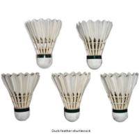 China produce name: Duck feather shuttlecock introduce: on sale