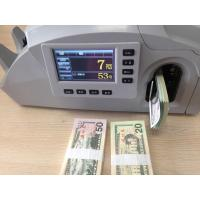 China Muti-function Check & count & bind money machine on sale