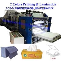 Buy cheap Facial Tissue Paper V Interfold Machines from wholesalers