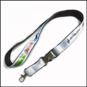 Quality Heat-transferred Satin Lanyard for Adverting Gift wholesale
