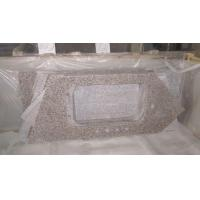 Cheap Chinese Granite, Chinese Rosso Porrino Countertop, Pink Granite Kitchen Top for sale