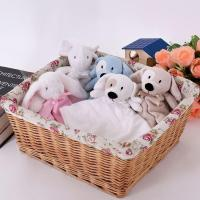 Buy cheap Baby blanket Super Soft Animal Head Plush Elephant Baby Security Blanket from wholesalers