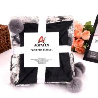 Buy cheap PV fleece promotion sale the delicate printing pv fleece blanket from wholesalers