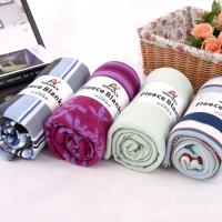 Buy cheap Polar fleece jacquard printed embroidered embossed brushed polar fleece blanket from wholesalers