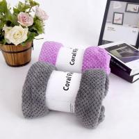 Buy cheap Coral fleece high quality solid coral fleece blanket from wholesalers