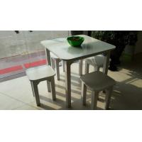 Buy cheap paper furniture Square table from wholesalers