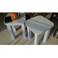 Buy cheap paper furniture Square stool from wholesalers
