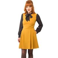 Buy cheap Clothing NEW: Pop Culture Icon Dress in Dijon from wholesalers
