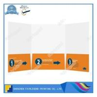 Buy cheap Tri-Panel 3 Pocket Letter Size Presentation Folder from wholesalers
