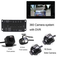 Buy cheap 360 Car Camera System 360 Car camera system with 4 Universal cameras from wholesalers