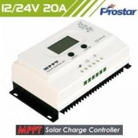 Buy cheap 1 Prostar 12v 24v 20a solar charge controller mppt with usb port from wholesalers