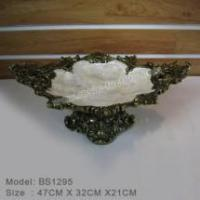 Buy cheap Bronze and seashell items Classic Polyresin Ashtray from wholesalers
