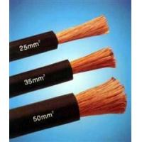 Cheap Copper Wire Rubber Insulated black natureal rubber flexible welding cable for sale