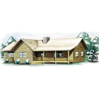China wooden house,cabin Product: timber house no#4 on sale
