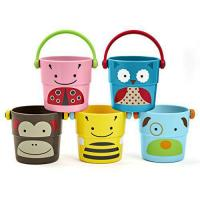 Cheap Skip Hop Zoo Stack and Pour Buckets, Rinse Cups, Multi for sale