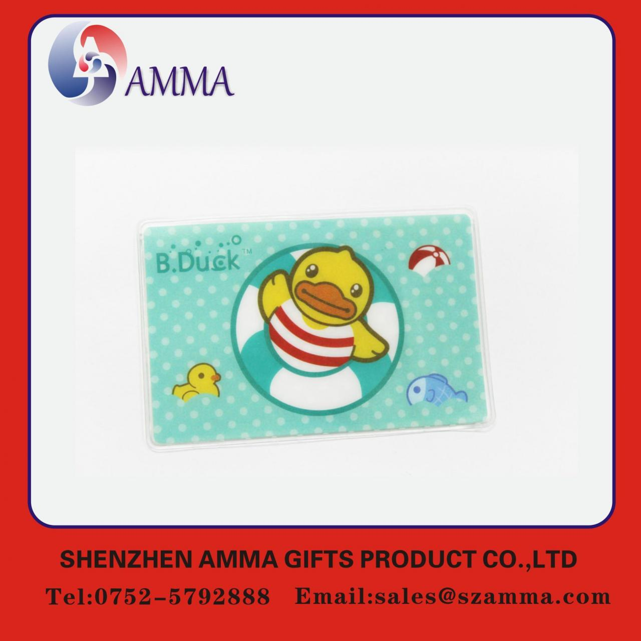 Cheap Soft plastic ID card holder for sale