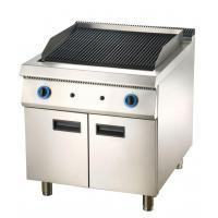 China Commercial Gas Griddle or Lava Rock Grill BBQ with Cabinet for Sale on sale