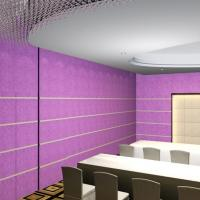 China Acoustics Panels Top Grade PET Noise Absorbers Material Better Than PVC on sale